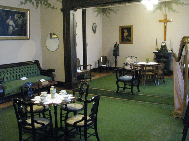 Ursuline Center Green Parlor